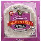 Gillians Quiche & Pie Crusts, Gluten-free