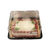 1/8 Sheet White Cake