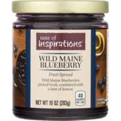 Taste of Inspirations Wild Maine Blueberry Fruit Spread