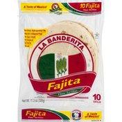 La Banderita Tortillas, Flour, Fajitas