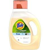 Tide Purclean, Plant-based Liquid Laundry Detergent, Unscented