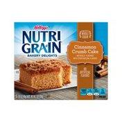 Kellogg's Nutri-Grain Bakery Delights Bars Cinnamon Crumb Cake