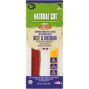 Old Wisconsin Natural Cut, Beef & Cheddar Snack Stick