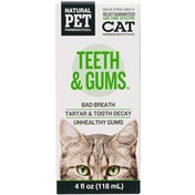 Natural Pet Cat Homeopathic Teeth & Gums