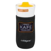 Cool Gear Kafe Single Wall Ceramic Travel Mug Silicone Sleeve