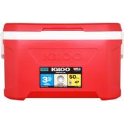 Igloo Cooler, Red, 50 Quart