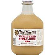 Martinelli's 100% Juice, Pure, Apple, Unfiltered