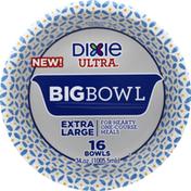 Dixie Big Bowls, 34 Ounces, Extra Large