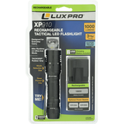 LuxPro Tactical LED Flashlight, Rechargeable, 1000 Lumens, XP910