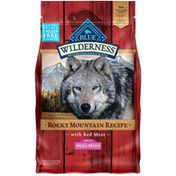 Blue Buffalo Wilderness Rocky Mountain Recipe High Protein, Natural Adult Small Breed Dry Dog Food, Red Meat