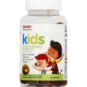 GNC Multivitamin, Kids, Gummies, Natural Assorted Fruit Flavors