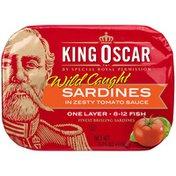 King Oscar Zesty Tomato Sardines