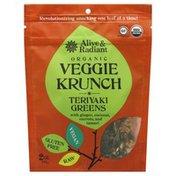 Alive & Radiant Veggie Krunch, Organic, Teriyaki Greens