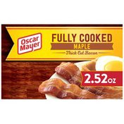 Oscar Mayer Maple Fully Cooked Thick Cut Bacon