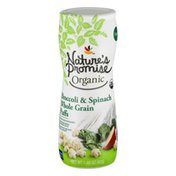 Nature's Promise Organic Broccoli & Spinach Whole Grain Puffs