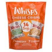 Whisps Parmesan & Cheddar Cheese Crisps