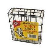 C & S Bird Food Small Wire Suet Basket Bird Feeder