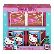 Hello Kitty Hot Cocoa Mug Set