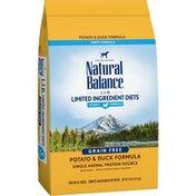 Natural Balance Puppy Food, Potato & Duck Formula