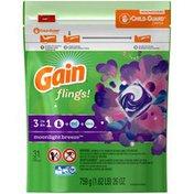 Gain Flings! Moonlight Breeze Pacs Laundry Detergent