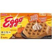 Kellogg's Eggo Waffles Thick & Fluffy Pumpkin 11.6oz