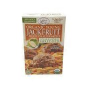 Edward & Sons Jackfruit, Young Organic, Meatless Alternative, Unseasoned Shredded