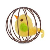 Leaps & Bounds Jitter Ball With Bird Cat Toy