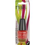 L.A. Colors Nail Polish, Moody Red BCC581