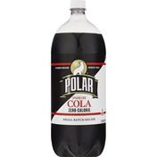 Polar Cola, Sparkling, Zero-Calorie
