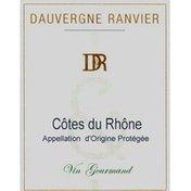 Dauv Ranvier Vin Gourmand Blanc Cdr