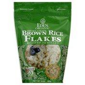 Eden Rice Flakes, Brown, Short Grain