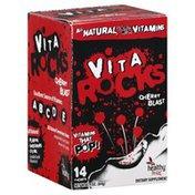 Healthy To Go Vita Rocks, Cherry Blast