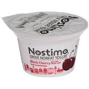 Nostimo Black Cherry Fruit On The Bottom Greek Nonfat Yogurt