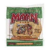 Mayan Farm Soft Corn Tortillas Yellow Corn with Wheat - 8 CT