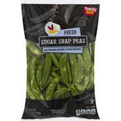 Ahold Snap Peas, Sugar, Fresh, Family Size
