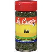 La Criolla Dill
