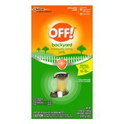 Off! Mosquito Repellent Lamp I 2 Repellent Diffusers + 2 Mosquito Candles