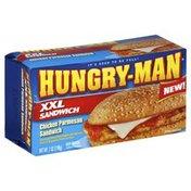 Hungry-Man Chicken Parmesan Sandwich