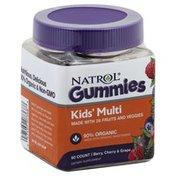 Natrol Kids' Multi, Gummies, Berry, Cherry & Grape