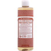 Dr. Bronner's Liquid Soap, Pure-Castile, Eucalyptus