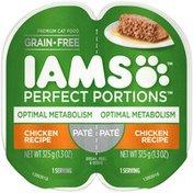IAMS Perfect Portions Optimum Metabolism Chicken Recipe Cat Food