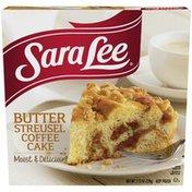 Sara Lee Coffee Cake, Butter Streusel, 11.5 oz. (Frozen)