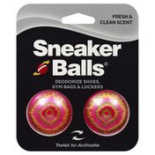 Sneaker Balls Deodorizer, Fresh & Clean Scent