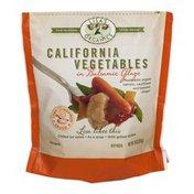 Lisa's Organic California Vegetables in Balsamic Glaze