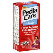 PediaCare Fever Reducer/Pain Reliever, Drops for Infants, Luden's Cherry Taste