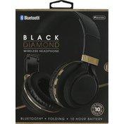 Sentry Pro Headphone, Wireless, Black Diamond, Bluetooth