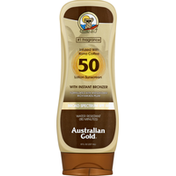 Australian Gold Sunscreen, Lotion, Broad Spectrum SPF 50