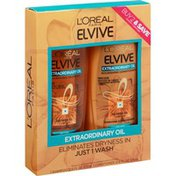 L'Oreal Shampoo/Conditioner, Nourishing, Extra Ordinary Oil