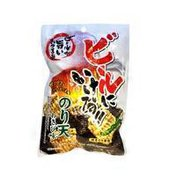 Marukan Noriten, Crispy Seaweed Tempura Snack, Wasabi Flavor