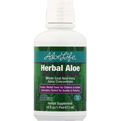 Aloe Life Aloe Vera Juice Concentrate, Whole Leaf, Detox Plus Formula, Herbal Aloe